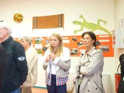 Vernissage de l'exposition Mois de l'Afrique à la découverte du Mali. Jeudi 4 octobre 2012