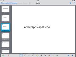 iPad et lecture pour mes CP