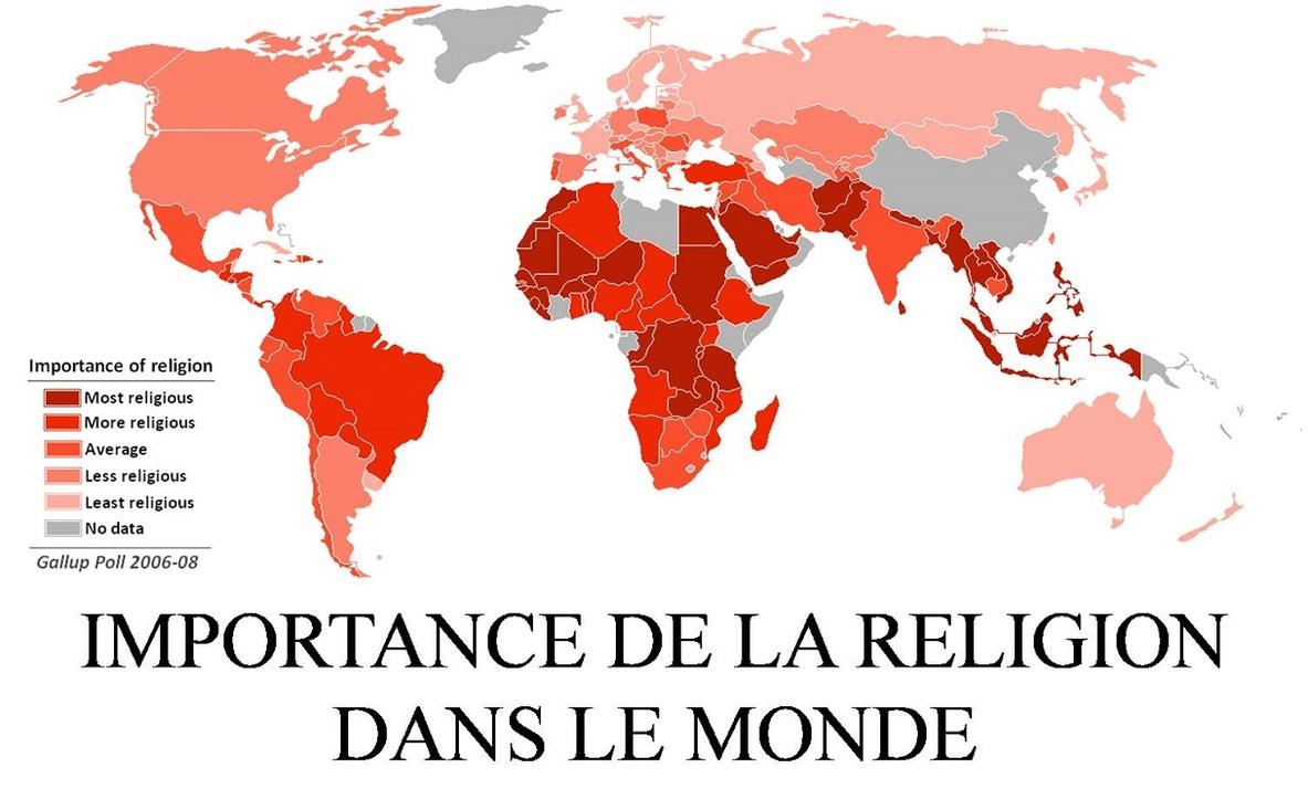 POUR MIEUX SITUER LES RELIGIONS
