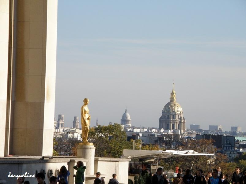 Les statues du Trocadéro
