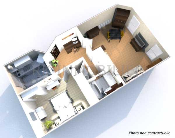plan appartement f2