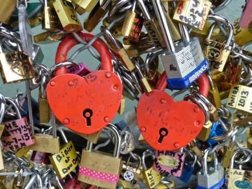 cadenas amour pont des arts 7