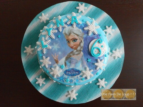 Cake Design : La Reine Des Neiges