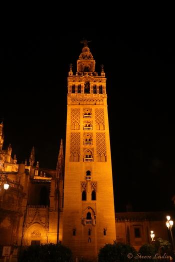 Cathédrale de Séville by night