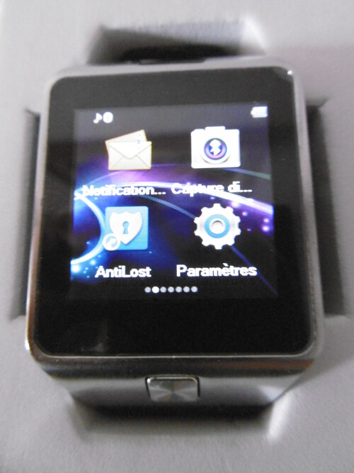 MallTEK Smart Watch avec Micro SIM & TF Carte