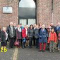 Février 2016 :avec la délégation allemande venue pour la réunion de travail reportée