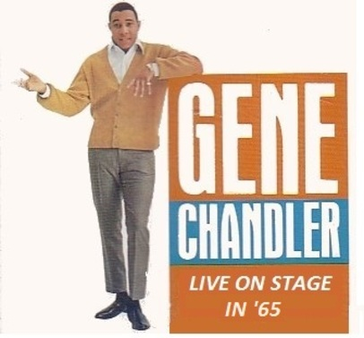 GENE CHANDLER - LIVE ON STAGE - ACTION RECORDS ACLP 6010 UK