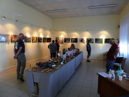Art du bois et photo animalière salle Ti Skol