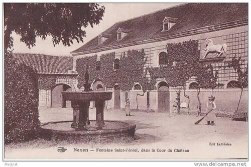 Nexon, fontaine Saint Ferréol
