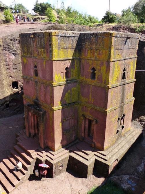 l'église Saint Georges de Lalibela