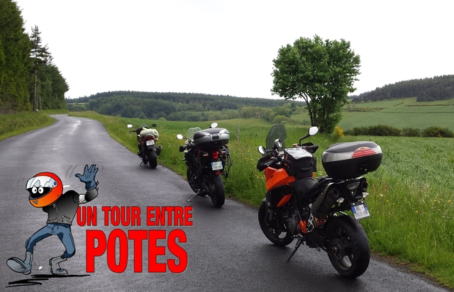 Un tour moto entre potes