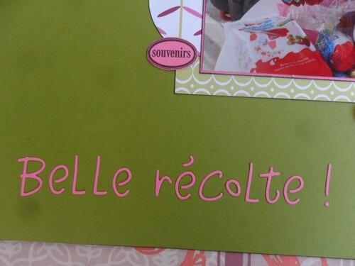 *** NP : Belle récolte ***
