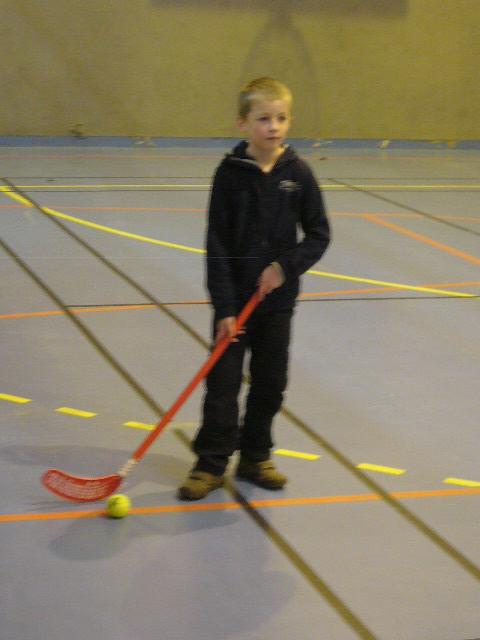 Les CE1 au hockey