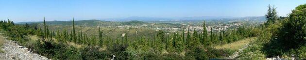 Randonnée de Villeneuve-de-Berg (Ardèche)