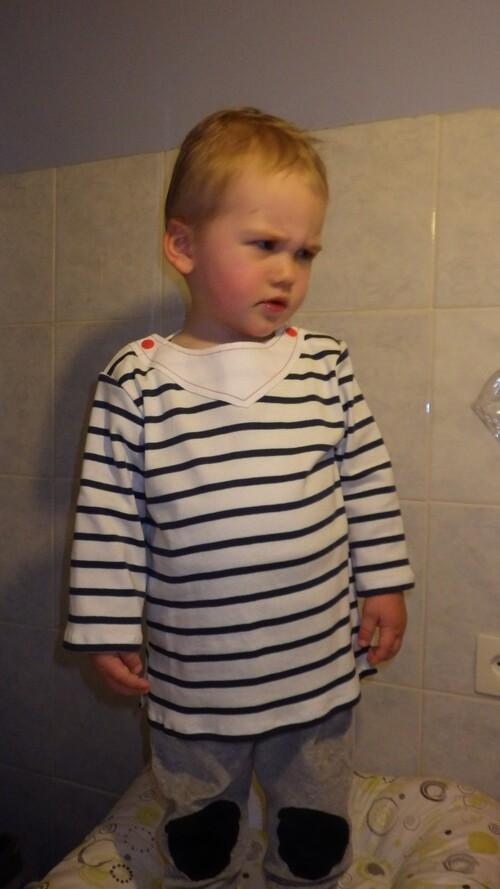 Un tee shirt de marin