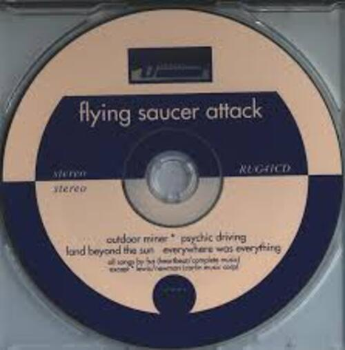 Wire vs Flying Saucer Attack - outdoor miner