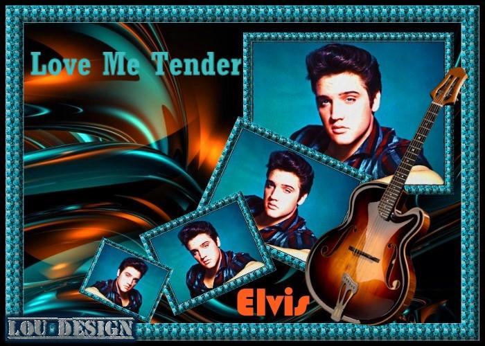 """Elvis Presley """"Love Me Tender"""""""