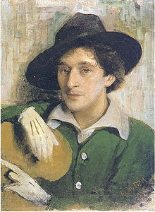 220px-Yury Pen - Portrait of Marc Chagall