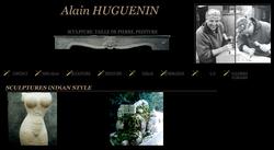 Alain Huguenin, artiste tailleur de pierre