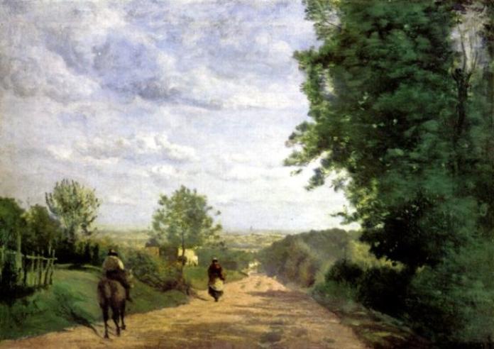 la route de Sèvres