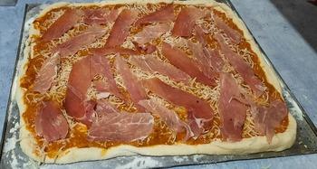 À table ... Pizza ...