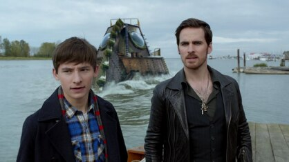 "Résultat de recherche d'images pour ""once upon a time dark waters hook and henry"""