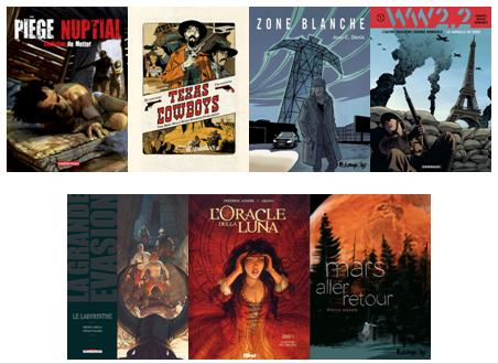 Les sorties BD de la semaine du 24 Août