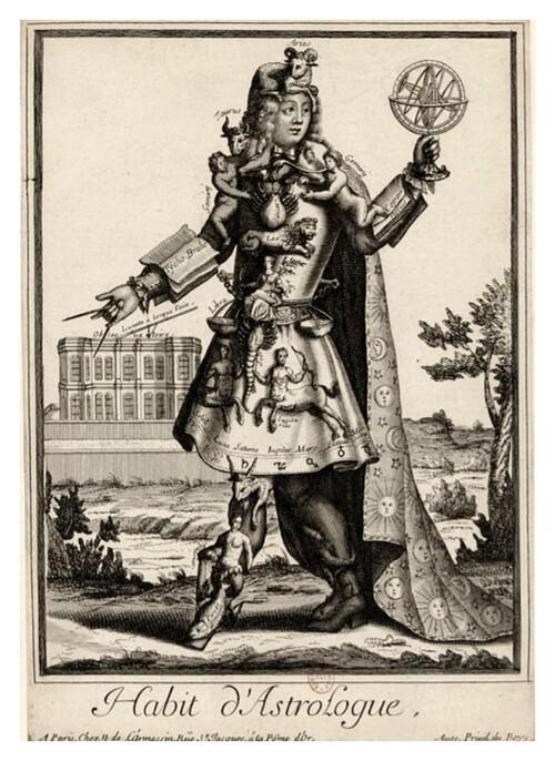 Costumes grotesques et métiers de Nicolas II de Larmessin