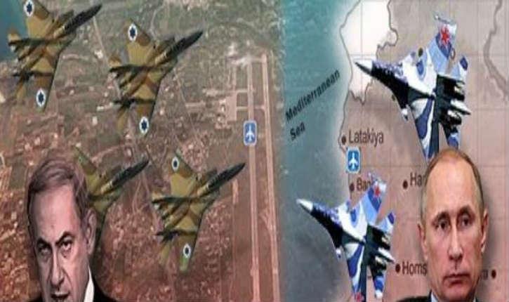 Syrie: un incident aérien a été évité de justesse entre des avions de combat russes et israéliens