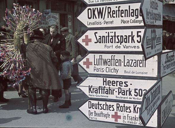 «Les Parisiens sous l'Occupation»: l'exposition polémique
