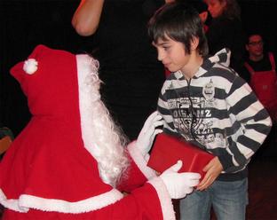 La cigale, la fourmi et le Père Noël !