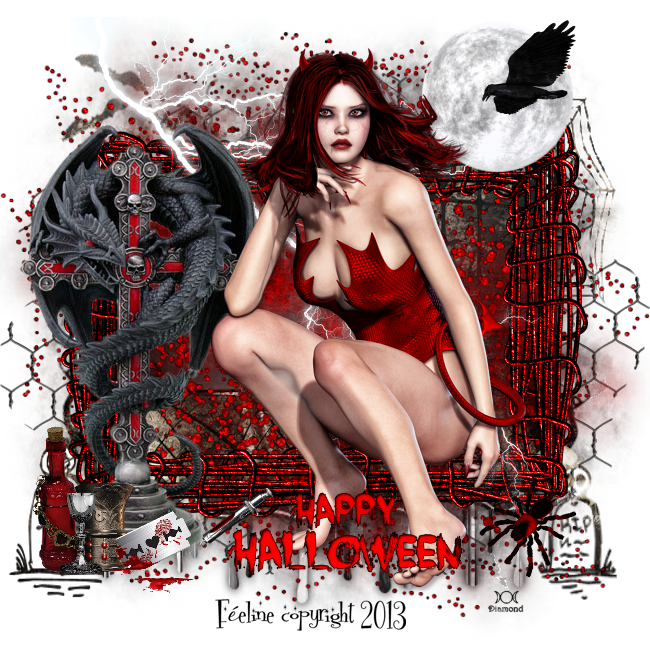Tutoriel Halloween 6 de Liligraph chez Delire2scrap