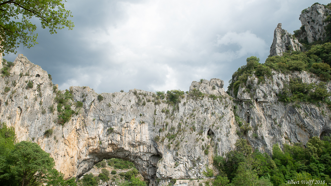 Ardèche traditionnelle : Pont d'Arc