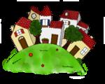 Le conte - Les lieux du conte - Le village