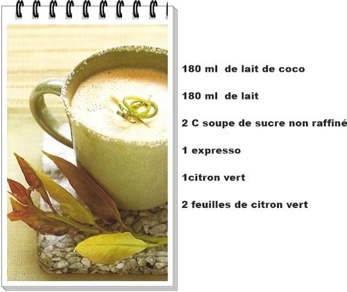 zeste à la noix de coco
