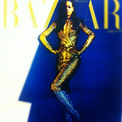 "Preview: Rihanna en couverture de ""Harper's Bazaar"""