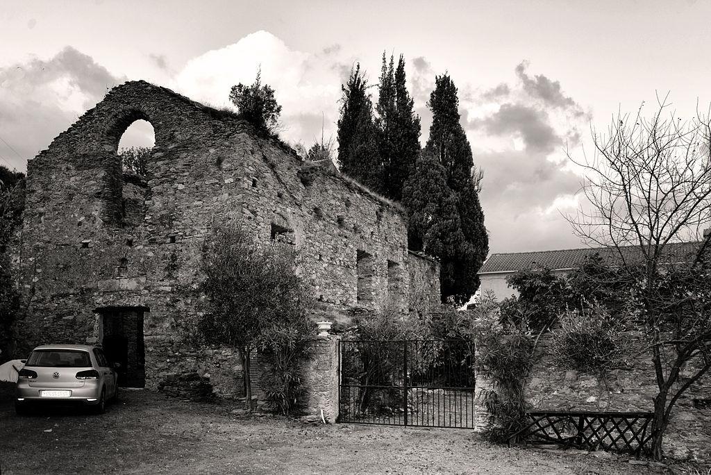Linguizzetta ancien couvent de Verde NB.jpg