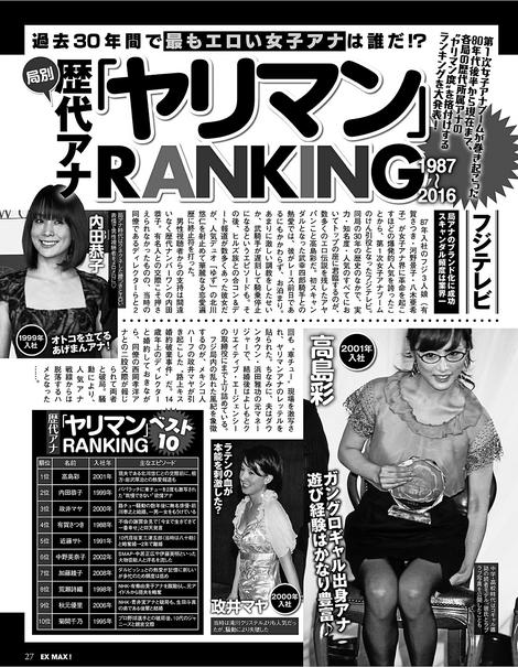 Magazine : ( [EX MAX!] - N°1 / January 2017 )