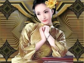 défi Beauty ''petite Asia sépia''