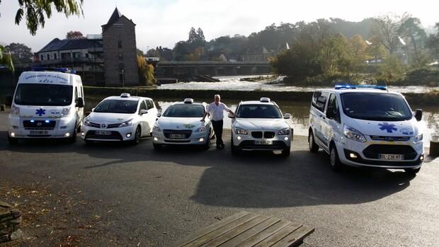 Ambulances Leray avec Nathalie