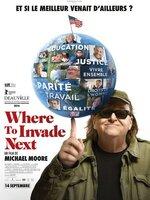 Dans son nouveau documentaire, Michael Moore décide de s'amuser à envahir le monde pour déterminer ce que les États-Unis peuvent apprendre des autres pays....-----...Origine du film : Américain Réalisateur : Michael Moore Acteurs : Michael Moore Genre : Documentaire Durée : 2h 00min Date de sortie : 14 septembre 2016 Année de production : 2015 Distribué par : Chrysalis Films