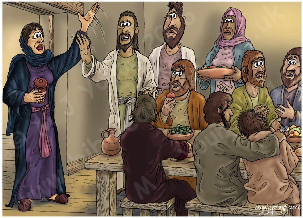 Mark 16 - Resurrection of Jesus - Scene 07 - Disbelief