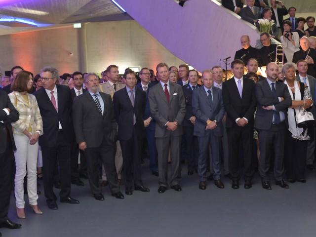 Séance académique inaugurale du Luxembourg Freeport