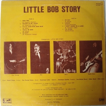 Frenchy But Chic # 59 : Little Bob Story - High Time (1976)