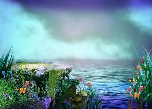 Tubes paysages en jpg