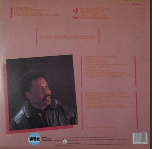 "Eddie Floyd : Album "" Flashback "" Wilbe Recording Corporation Records WIL 3005 [ US ]"