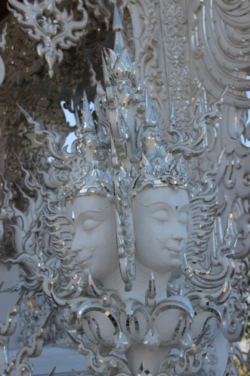 Le temple blanc à Chang Rai