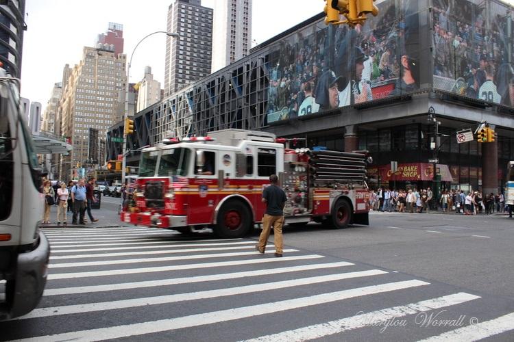 New York : Policier & Pompier
