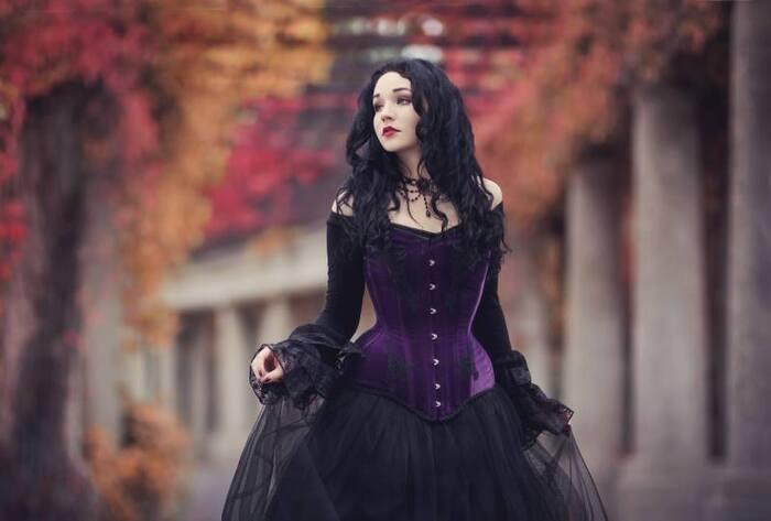Lady Ophelia, modèle goth