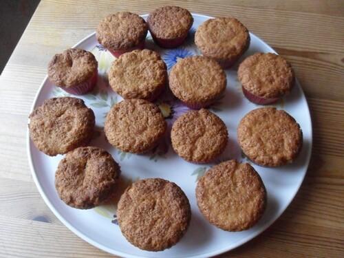 *** Muffins à la confiture de lait ***